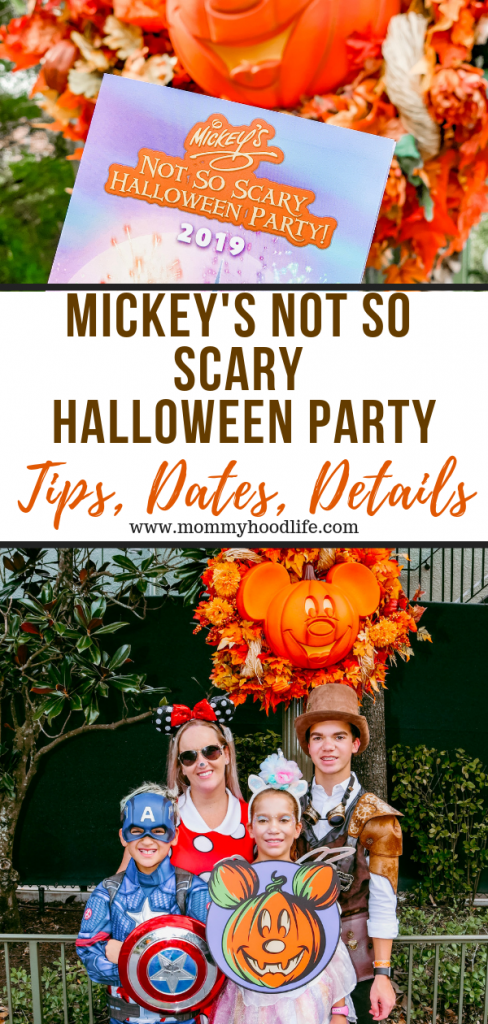 Mickey's Not So Scary Halloween Party Tips Dates and Details