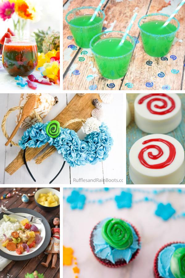 Moana Crafts and Recipes for a Moana Birthday Party