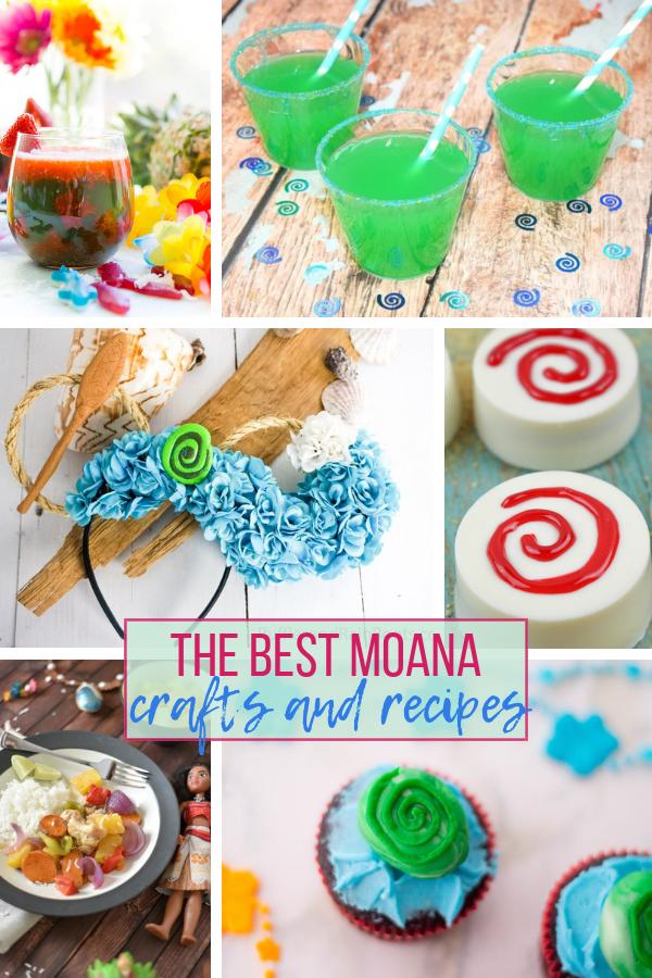 Moana Party Crafts and Recipes