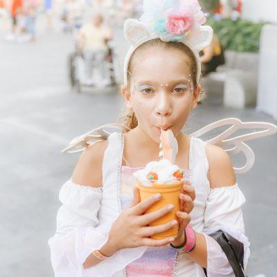 Pumpkin Spice Milkshake at Disney
