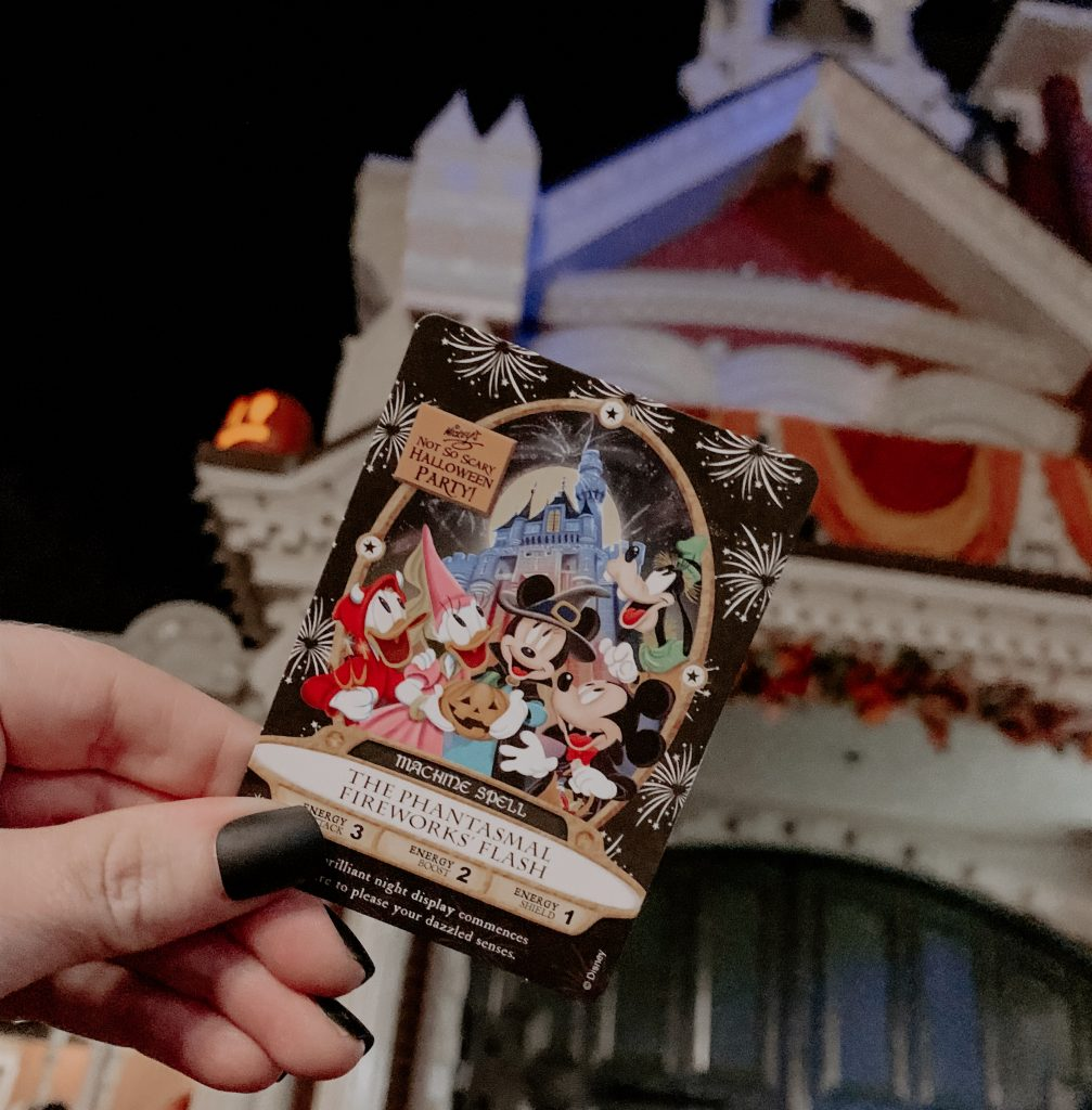 Sorcerers of the magic kingdom MNSSHP event Card