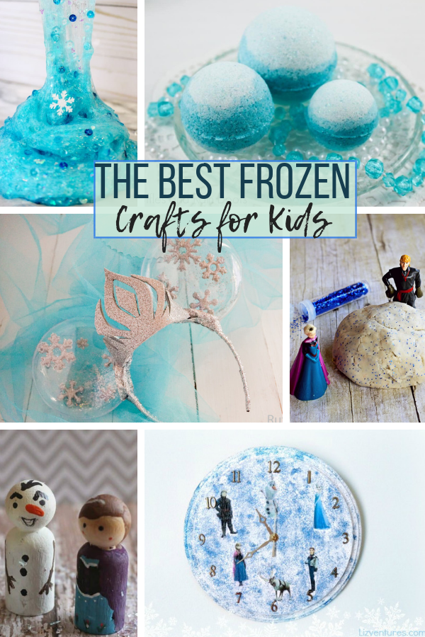 The Best Frozen Crafts for Kids