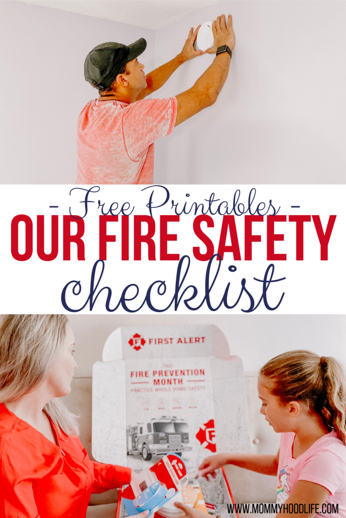 Fire Safety Checklist with Free Printables
