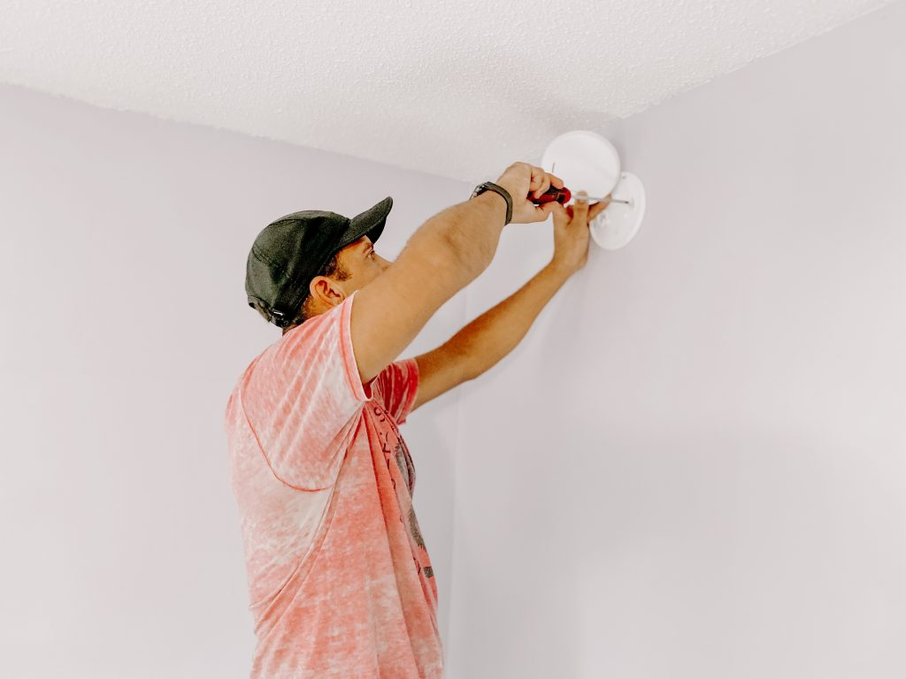 Fire Safety Installing Detector