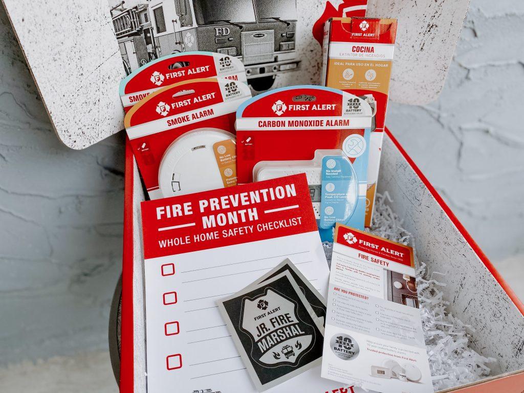 First Alert Fire Safert Month Box