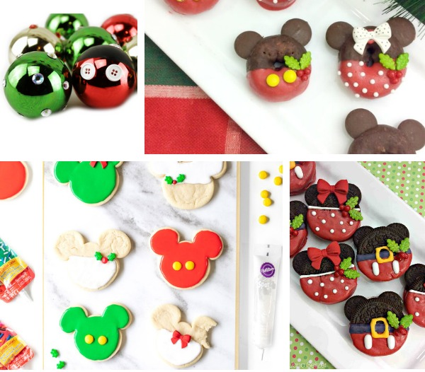 Mickey Mouse Christmas Crafts and Recipes Ideas