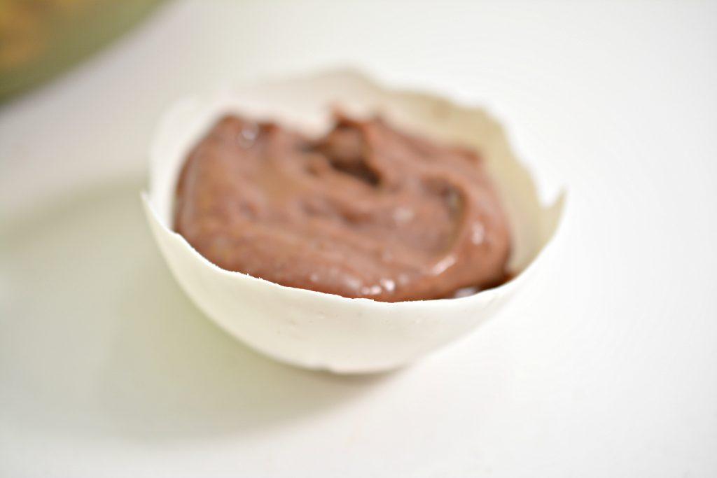 Pudding Bowl in Chocolate Cup
