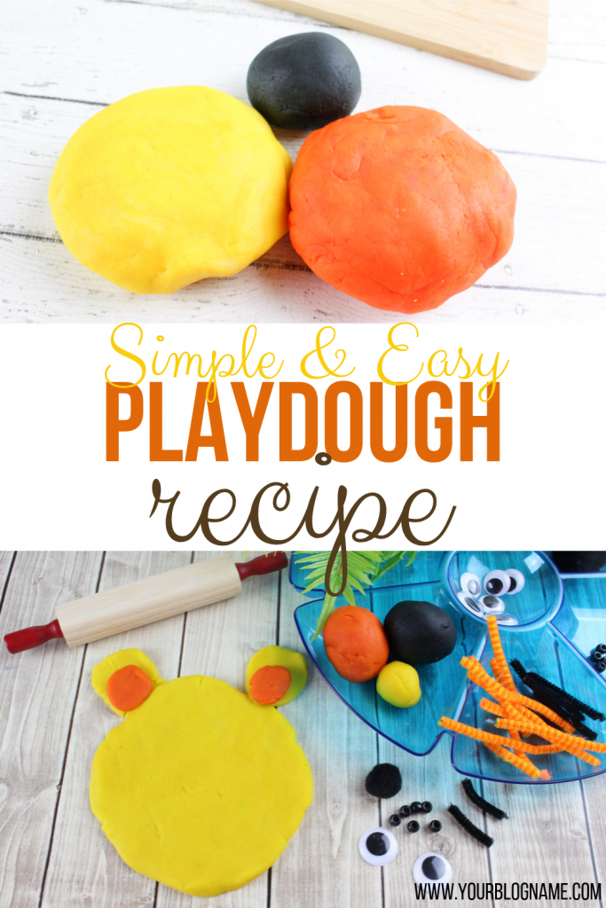 Simple Playdough recipe