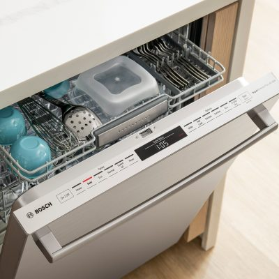 Top of the Bosch 800 Series Dishwasher