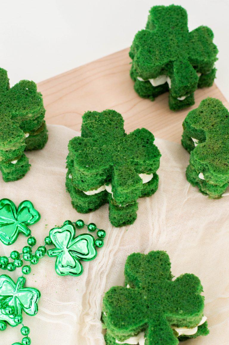 St. Patrick's Day Dessert Shamrock Whoopie Pies Recipe