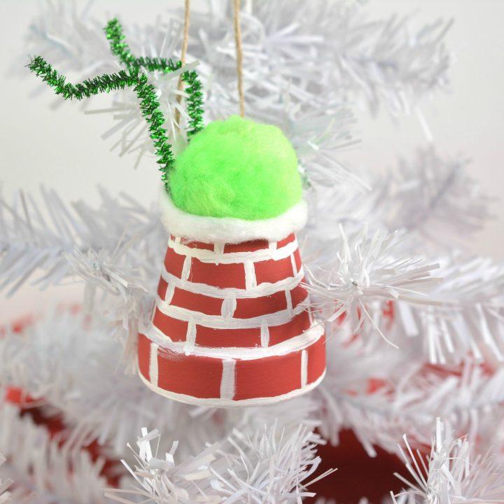 The Grinch DIY Ornament