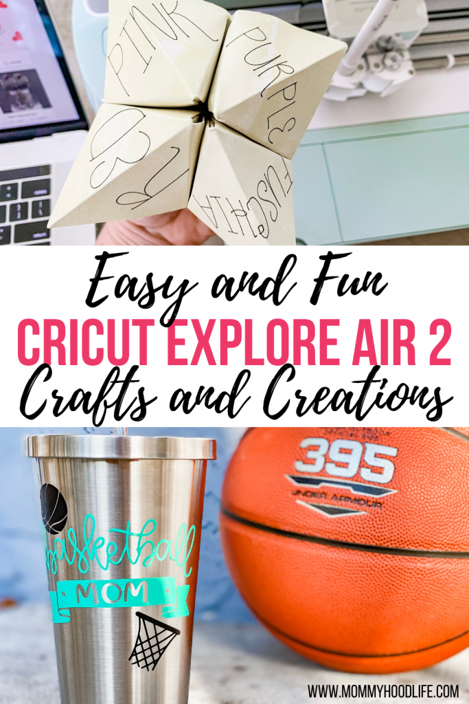 Easy Cricut Explore Air 2 Craft Ideas
