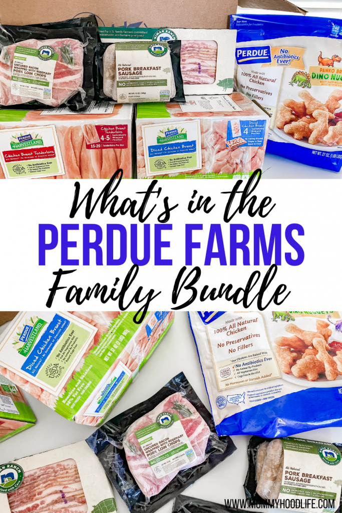 what's in the Perdue farms family bundle delivery