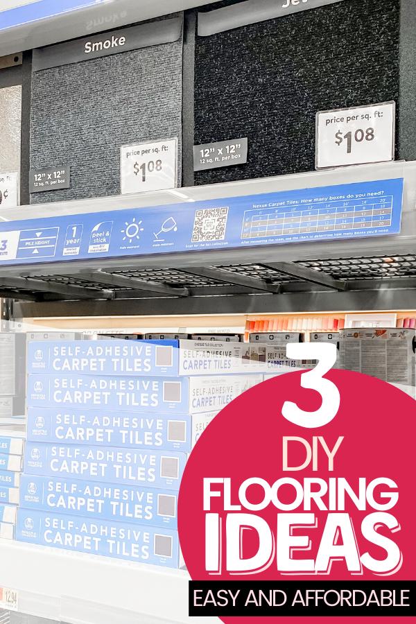 Easy DIY Flooring Options