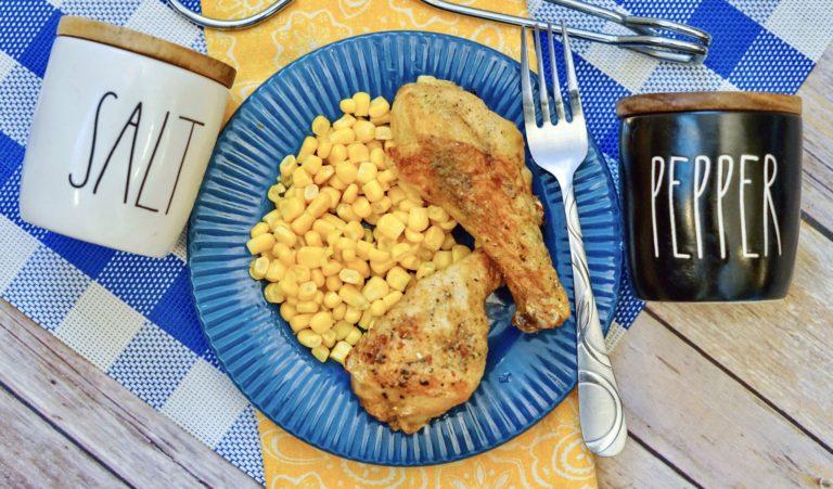 The Best Italian Air Fryer Chicken Drumsticks Recipe