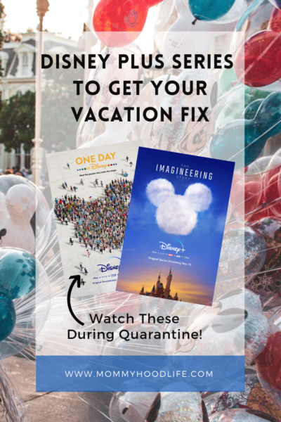 Disney Plus Series to get your vacation fix