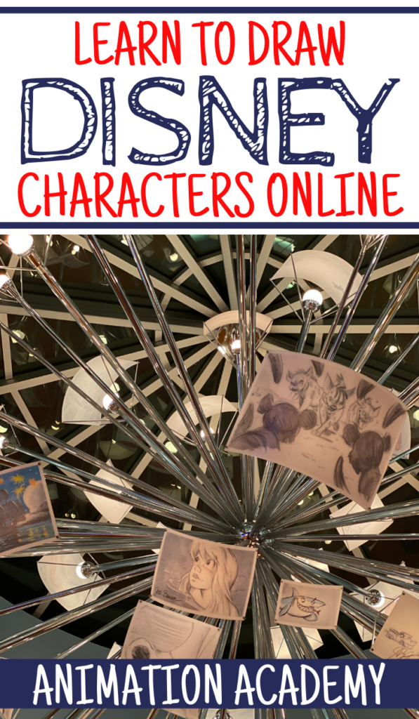 Learn How to Draw Disney Characters Online