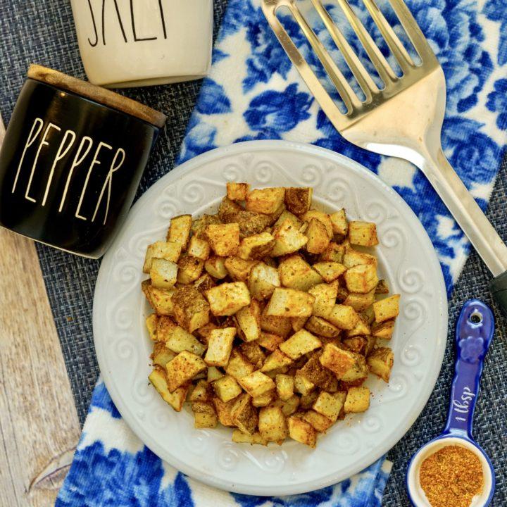 Air Fryer Cajan Potatoes Recipe