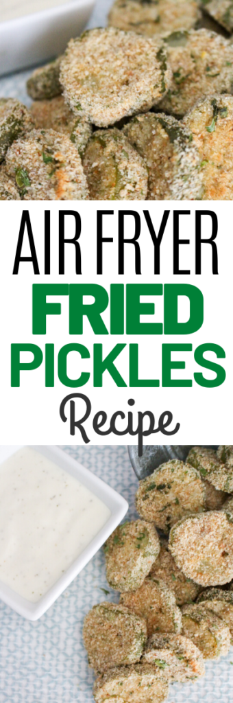 Air Fryer Fried Pickles Recipe