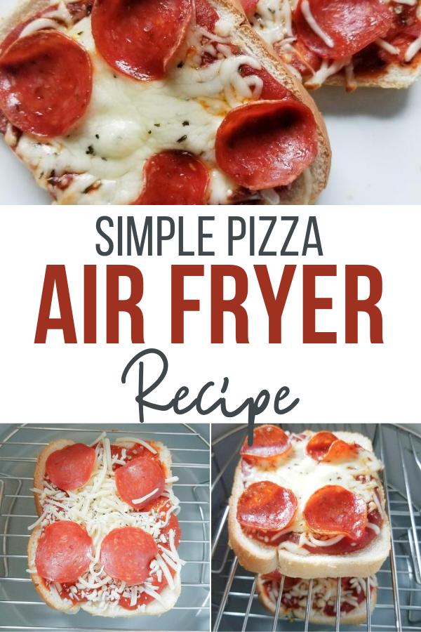 Air Fryer Pizza Simple Recipe