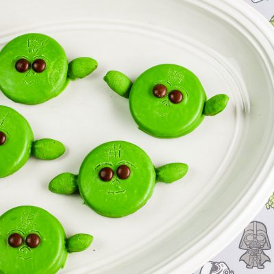 No-Bake Yoda Cookies with OREOS