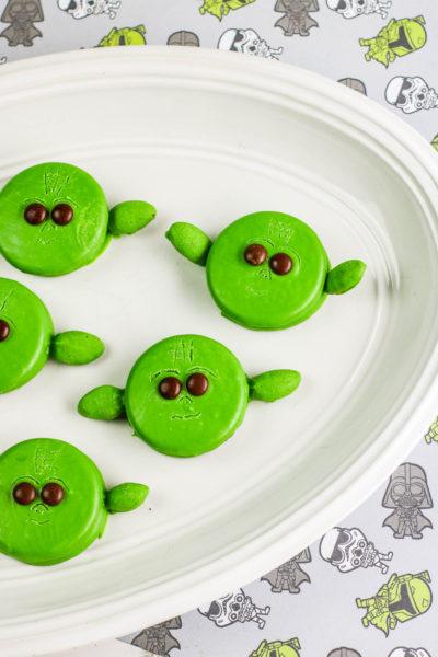 No-Bake Yoda Cookies with OREOS