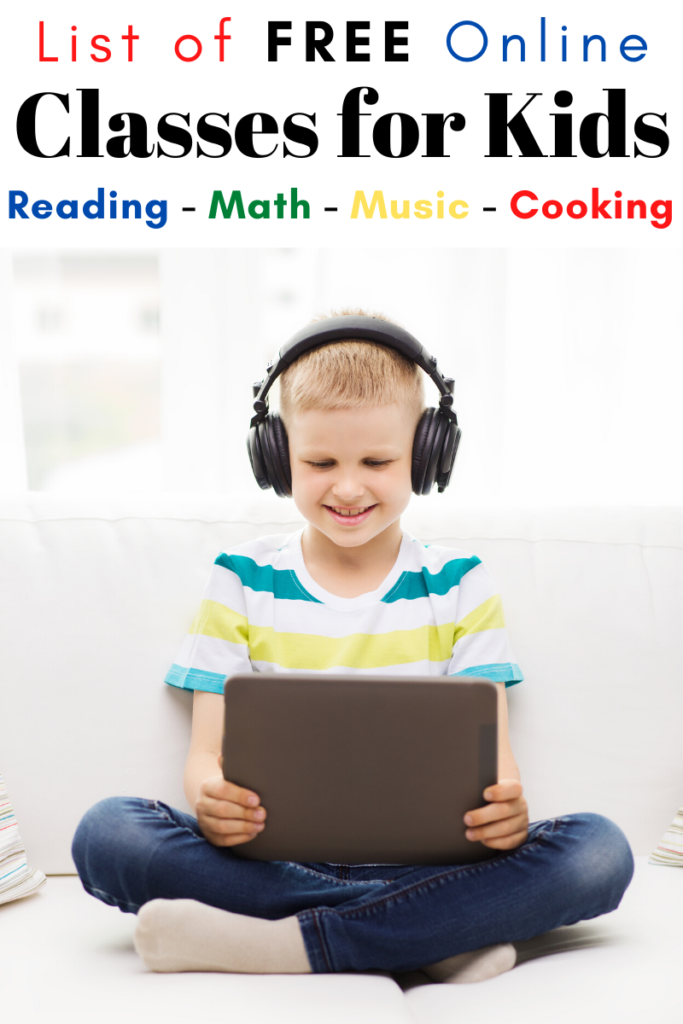 Free Online Classes for Kids
