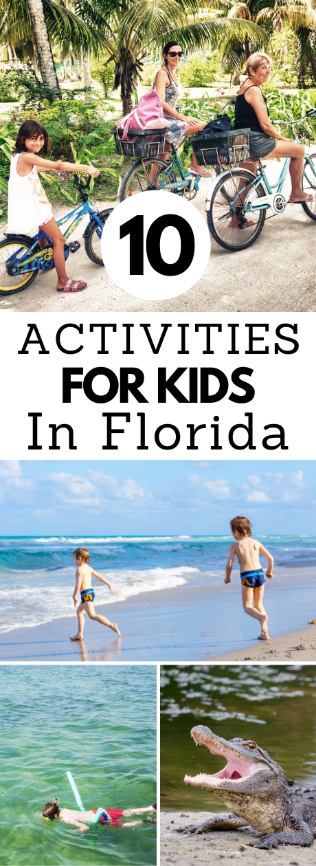 Activities for kids in Florida