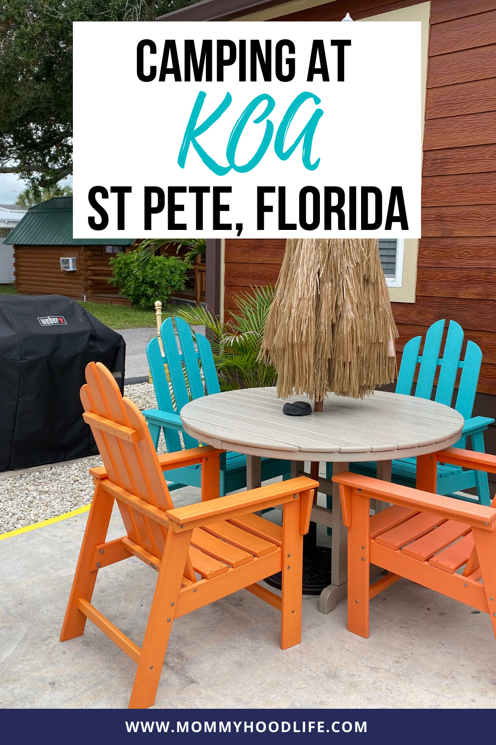 Camping at KOA St. Pete Florida