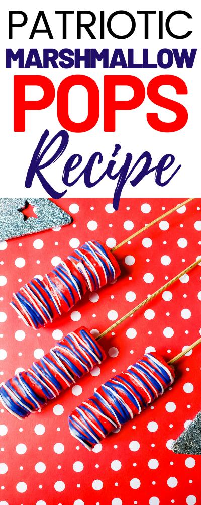 Marshmallow Pops Recipe