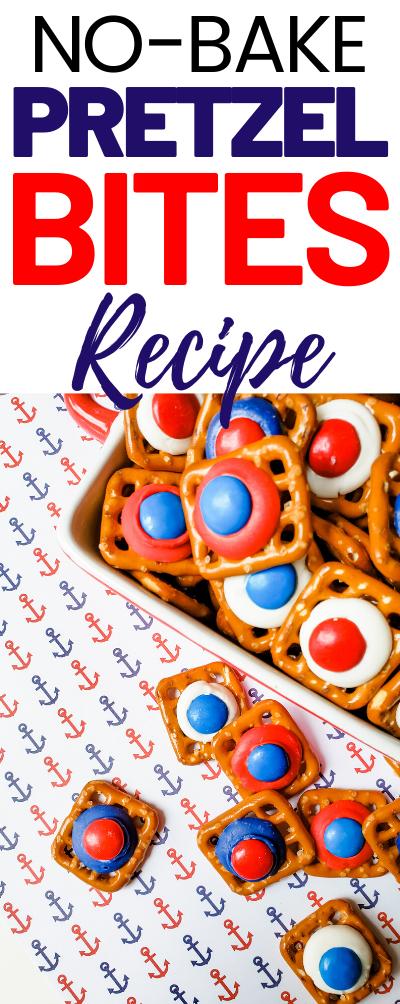No-bake Pretzel Bites Recipe
