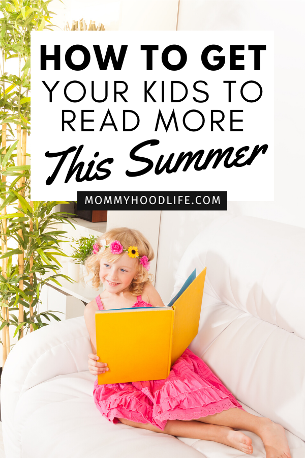How to get your kids to read more this summer