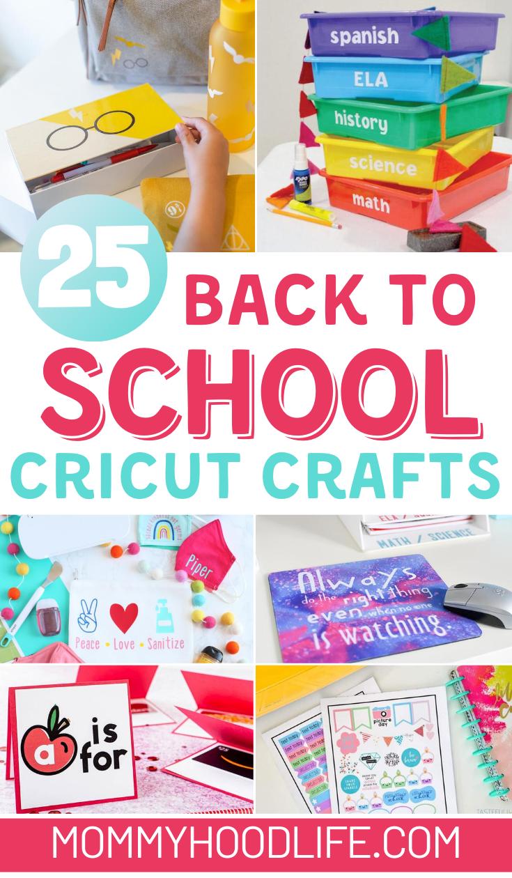 Cricut Back to School Crafts