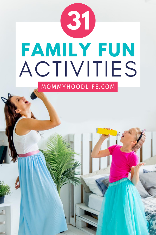 Family Karaoke Fun Activities