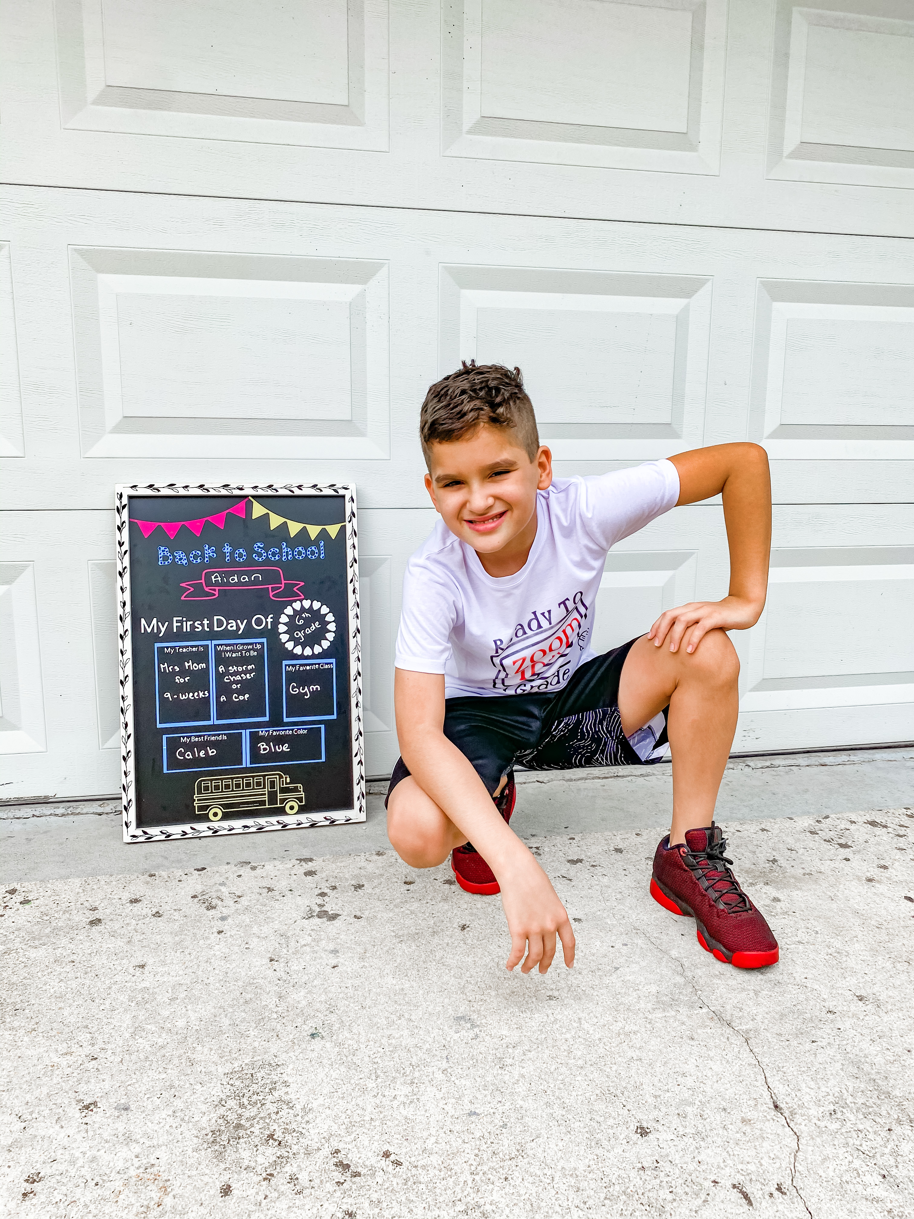 First Day Of School Cricut Crafts