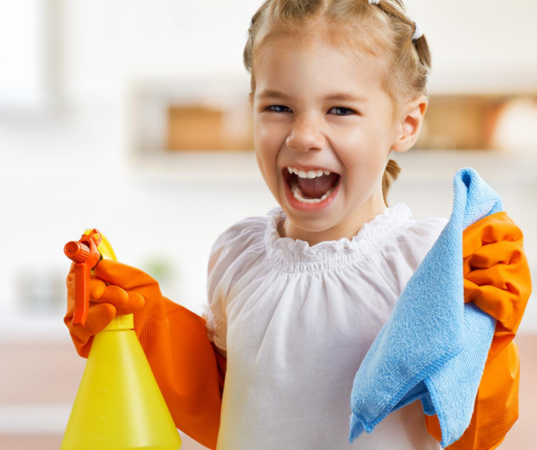 Chores For Kids That They Can Do at Every Age + Printable Chore Chart