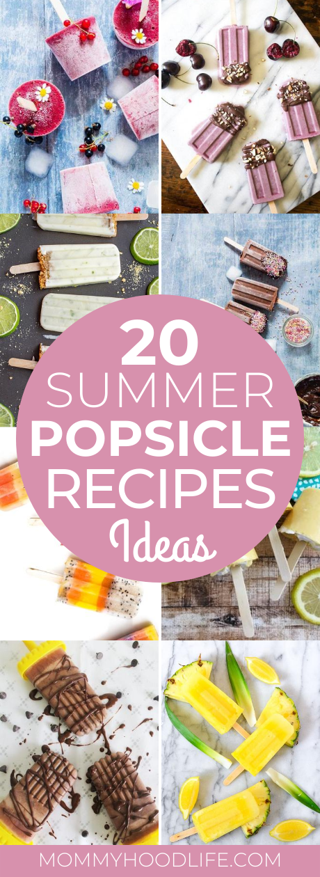 20 Summer Popsicle Ideas