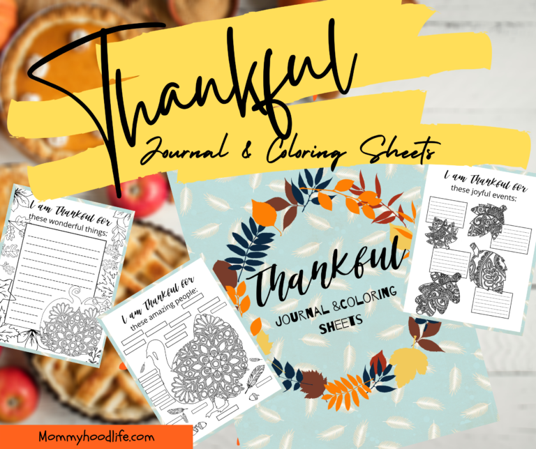 3 Benefits of Doing a Thankful Journal with Free Printable Thankful Journal