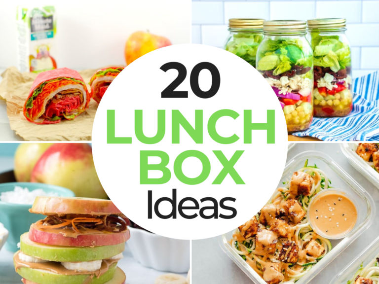 20+ Meals To Try for Lunchbox Ideas