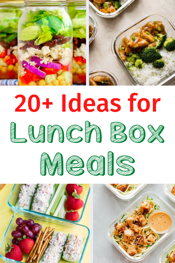 Lunch Box Meal Ideas