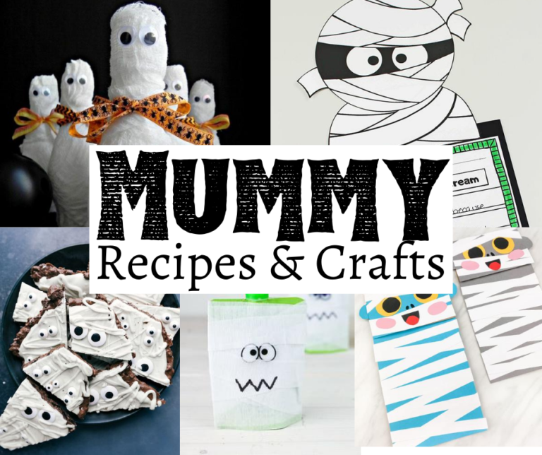 21 Spooky Mummy Crafts and Recipes for Halloween