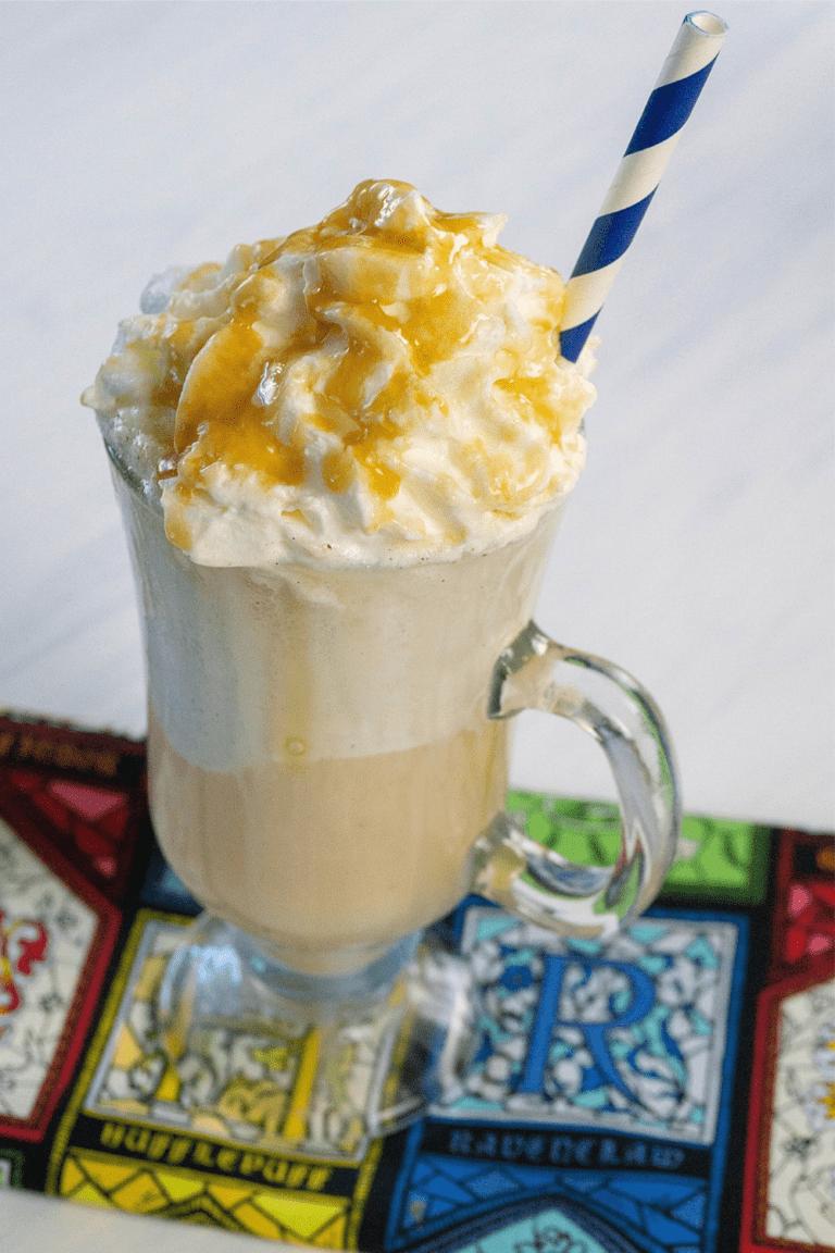 Easy Butterbeer Ice Cream Float Recipe