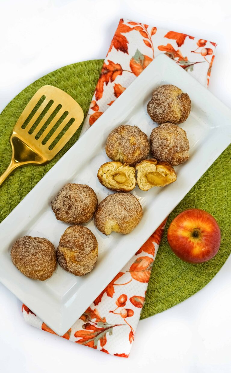 Sweet and Simple Apple Air Fryer Donut Holes Recipe