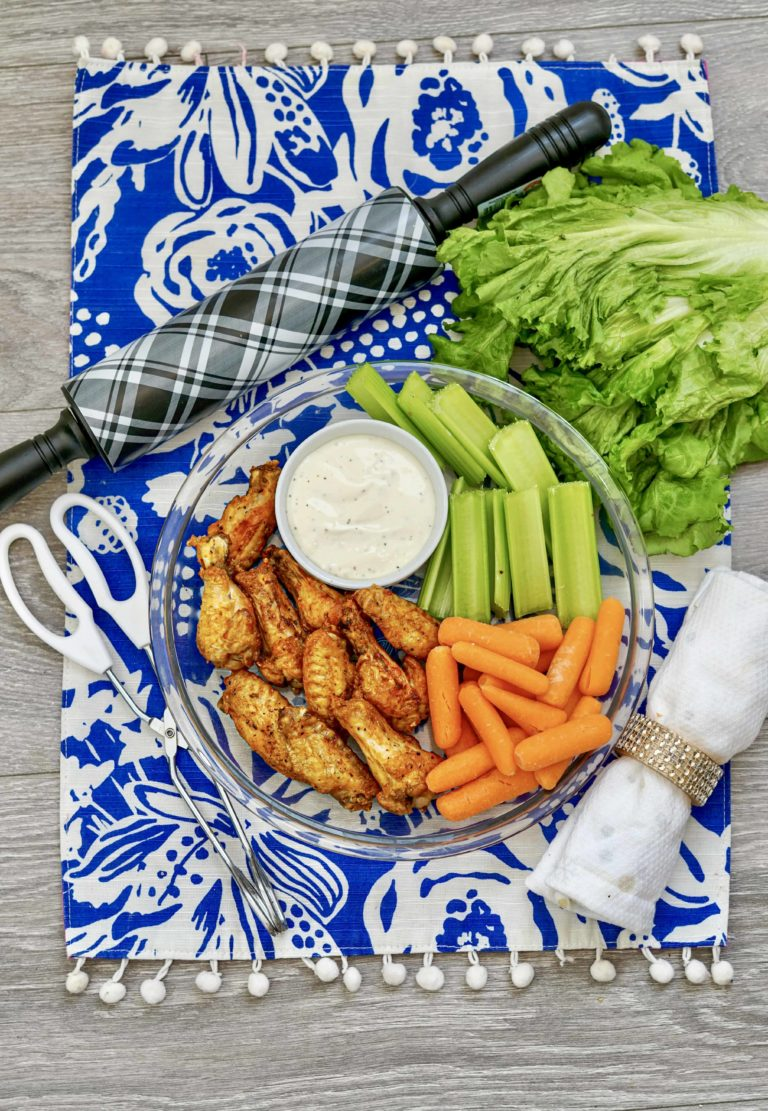The Air Fryer Buffalo Chicken Wings Recipe You Need To Make