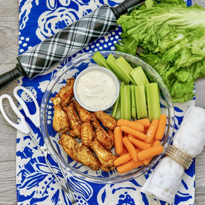 How to Make Air Fryer Buffalo Chicken Wings