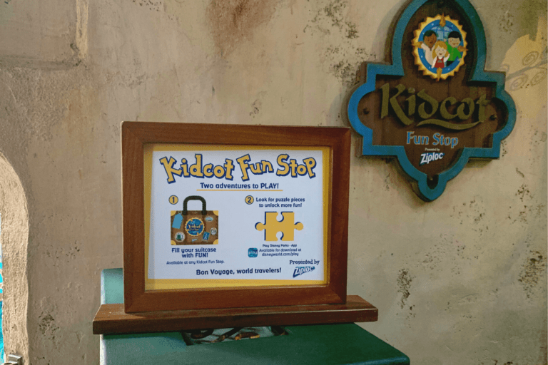 Kidcot Locations and other Epcot Childrens Attractions