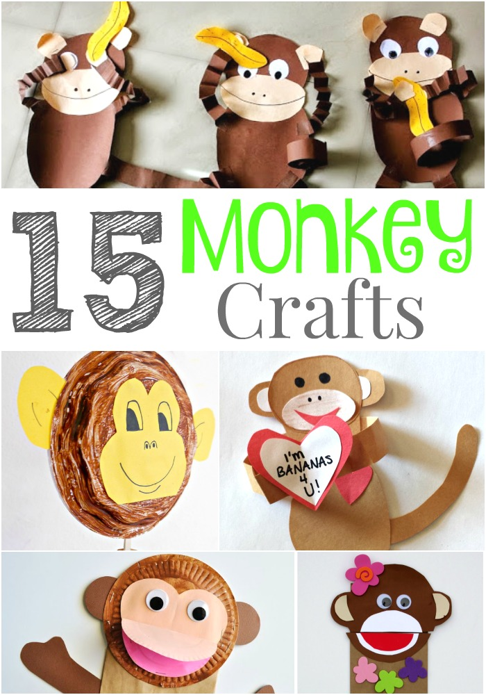 15 Wild and Fun Monkey Crafts that Kids Will Go Bananas Over