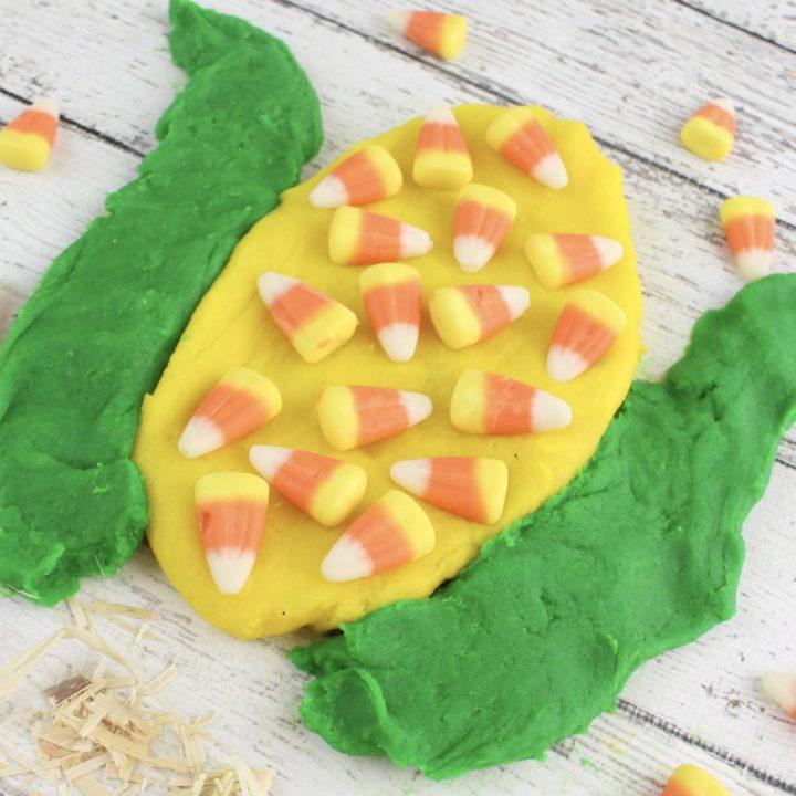 Buttered Popcorn Playdough