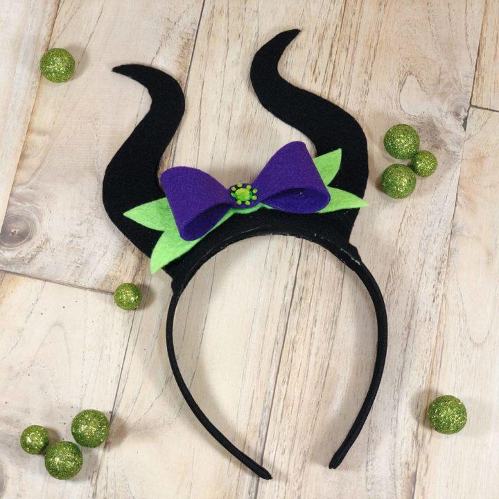 Maleficent Felt Headband DIY